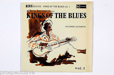 Alexis Korner Presents KINGS OF THE BLUES Vol.1 Gus Cannon's Jug Stompers