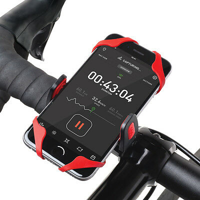 Osomount Bike Handlebar Mount Holder for Smartphone - 2 x Spider Straps Included