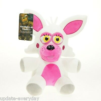 """New FNAF 5 Five Nights at Freddy's Mangle Pink White 10"""" Plush Doll Toy Gift"""
