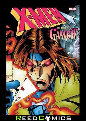 X-MEN THE TRIAL OF GAMBIT GRAPHIC NOVEL (400 Pages) New Paperback