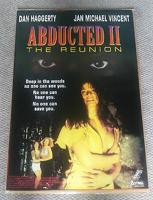 Abducted 2 The Reunion (1995) Original Movie Poster 27x40 Dan Haggerty