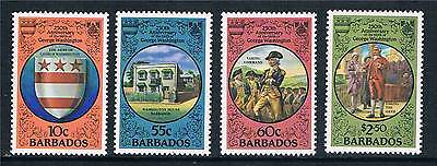 Barbados 1982 250th Birth Anniv of George Washington MNH