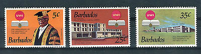 Barbados 1973 University of West Indies MNH