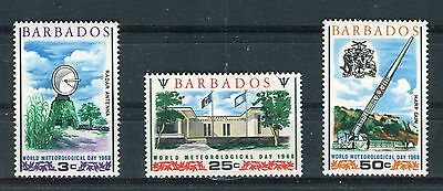 Barbados 1968 World Meteornological Day MNH