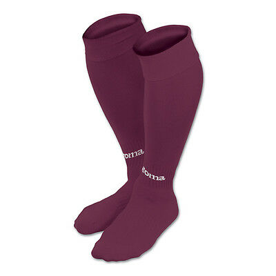 JOMA FOOTBALL SOCKS - BURGUNDY/MAROON -  various sizes