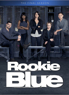 Rookie Blue: The Final Season - 3 DISC SET (2016, DVD New)
