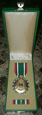 1991 Gulf War Liberation of Kuwait Medal Saudi Arabia Medal Ribbon in Box Case