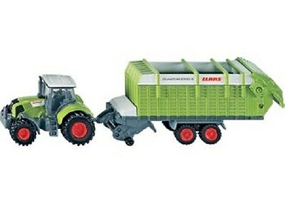 SIKU Claas Axion 850 Tractor w/ Trailer 1:87 scale NEW