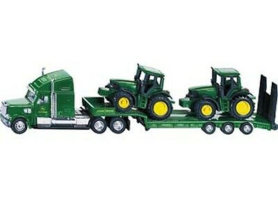 SIKU Low Loader with John Deere Tractors 1:87 Scale NEW