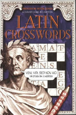 Latin Crosswords by Peter Jones (Paperback, 2000) New Book