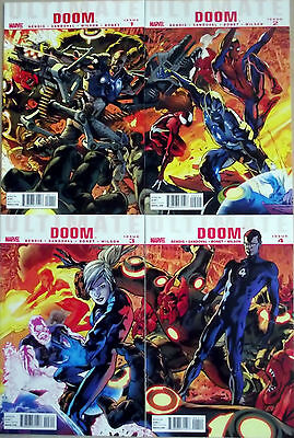 ULTIMATE DOOM 1,2,3,4 (1-4)...NM-...2011...Bendis,Sandoval...Bargain!
