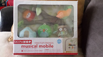 Skip Hop Tree Top Friends Musical Mobile Owls BRAND NEW IN BOX