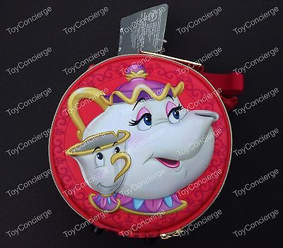 DISNEY Store LUNCH Box MRS POTTS CHIP Beauty and the Beast School Tote 2016 NWT