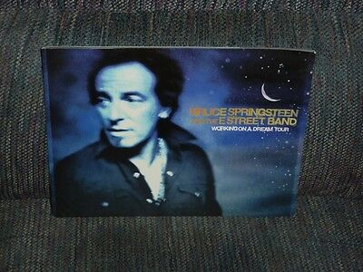 BRUCE SPRINGSTEEN & THE E STREET BAND - Working On A Dream Tour Program