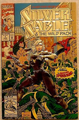 From Amazing Spider-Man #265 Silver Sable and the Wild Pack #1 (Jun 1992) Movie