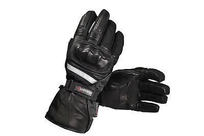 "Men's Motorcycle Gloves (waterproof & great for winter) – ""Reflector"""