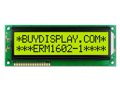 3.3V 16x2 Display HD44780 Controller LCD Big Character Module w/Tutorial,Arduino