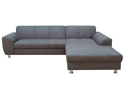 ecksofa sven grau recamiere rechts sofa couch eckcouch polsterecke eur 946 80 picclick de. Black Bedroom Furniture Sets. Home Design Ideas