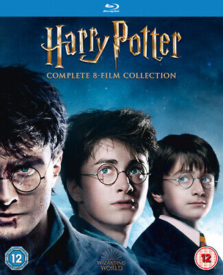 Harry Potter: Complete 8-film Collection DVD (2016) Daniel Radcliffe, Columbus