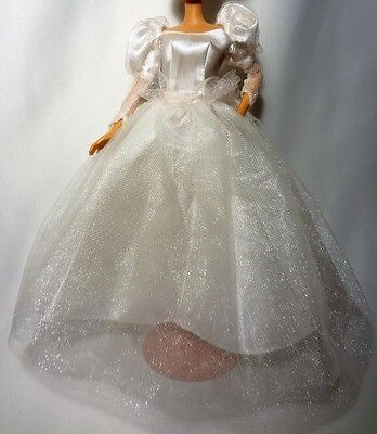 Wedding Dress for Barbie or similar sized doll