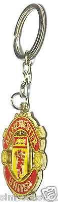 Manchester United Key Ring Club Crested Official Football Club Gifts