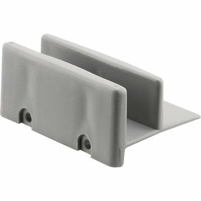 Prime-Line Products (M 6192) Shower Door Bottom Guide, (Pack of 2) [Gray] AOI