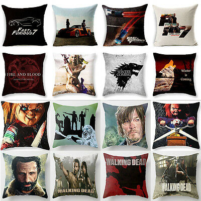 18'Game Of Thrones Ghost Polyester Pillow Cases Sofa Cushion Covers Pillow Cover