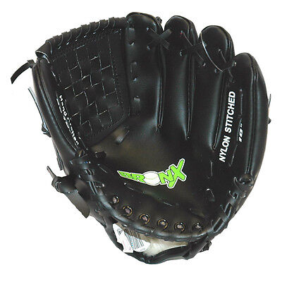 Bronx Softball Catching Mitts High Grade Vinyl Baseball Fielders Hand Glove