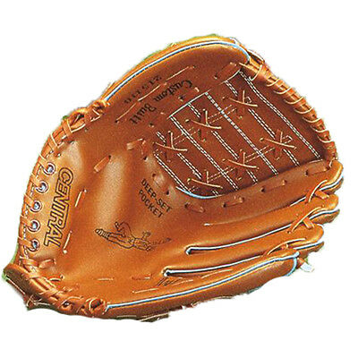 Central Deluxe Softball Easy Catching Glove Baseball Fielders Mitts L.H Or R.H