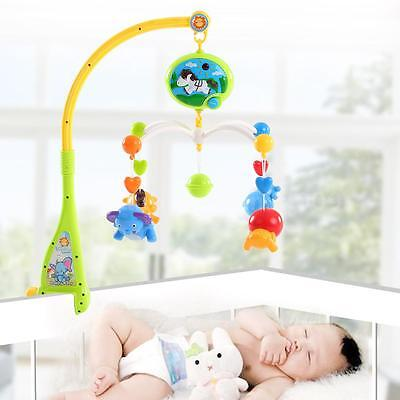 Hot Baby Bed Bell Musical Mobile Crib Dreamful Bed Ring Hanging Rotate Bell S5T2