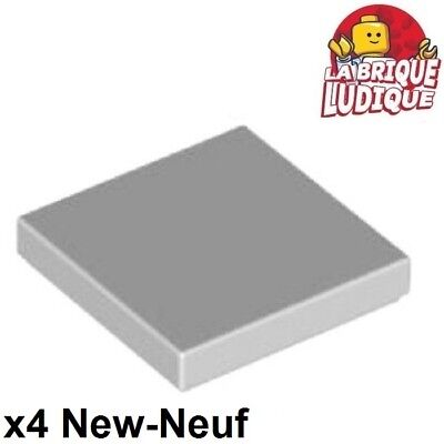 Lego 4x Tile plaque lisse 1x2 with Groove rose//bright pink 3069b NEUF