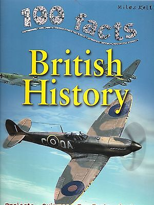 100 Facts about British History  New Paperback Book