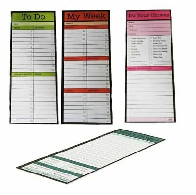 Magnetic Tear off List Note Pad for Fridge Chores or To Do or My Week