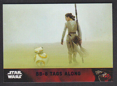 Topps Star Wars - The Force Awakens - Purple Parallel Card # 81