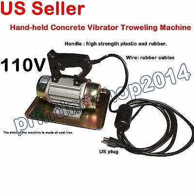 110V 250W Portable Hand-held Cement Vibrating Troweling Concrete Vibrator