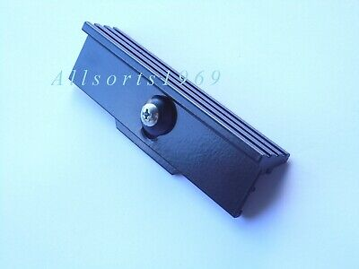 Sliding aluminium window handle catch lock CTL Alumalite Old G James black