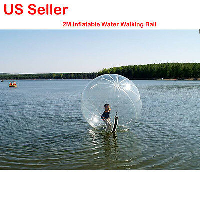 Dia.2M Water Walking Ball PVC Inflatable TIZIP Walk +Free Electric Air Blower