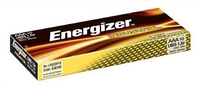 NEW Energizer AAA LR03 Industrial Battery Batteries for Camera's/Toy's - 10 Pack