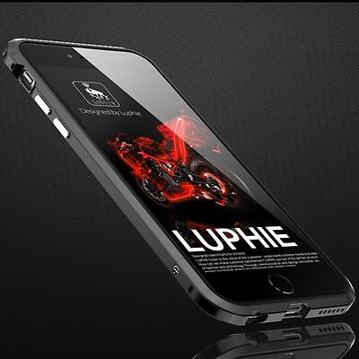 LUPHIE Aluminum Ultra-thin Metal Bumper Frame Case Cover for iPhone 6s / plus SE