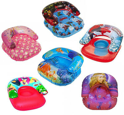 Disney & Kids Character Swimming Inflatable Chair Seat Brand New Gift