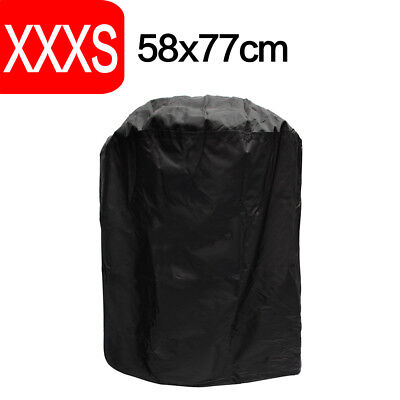 77CM Waterproof Round Barbecue Cover Grill Outdoor Gas Dust Rain Protector Cover