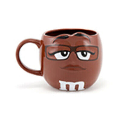 M&M's World Brown Character 3D Mug New