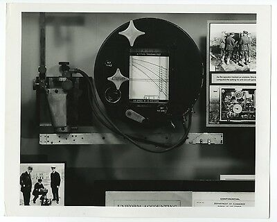 World War I - Hannibal Ford Bombsight - Vintage 8x10 Photograph by Charles Eames