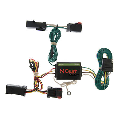 CURT Custom Vehicle-to-Trailer Wiring Harness 55382 for 2002-2007 Jeep Liberty