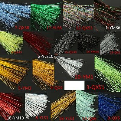 Crystal Flash Fly tying material Holographic Fishing Lure Tying Making 150Pcs