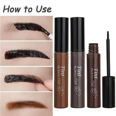 Long Lasting Gel Crème Peel Off Teint Sourcils Eyebrows Coloration Maquillage