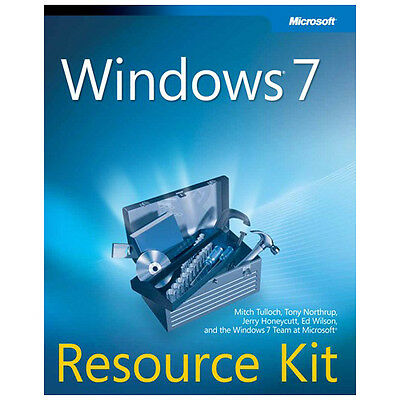 Manual impreso + CD-ROM Microsoft Windows 7 Resource Kit