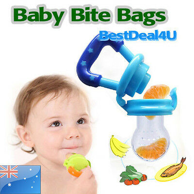 Baby Nipple Food Feeder Safe Feeding Teat and Teeth bite bag