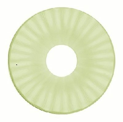 Glass Fusing / Slumping Supplies : Deep Flute Drop-out Mold 6.5in