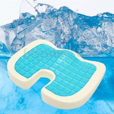 Coccyx Orthopedic Gel Comfort Memory Foam Seat Cushion Cooling Pillow Summer